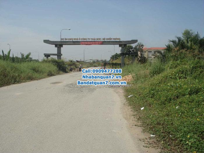 Cần bán gấp lô đất Thái Sơn 1, xã Phước Kiển, huyện Nhà Bè, Tp. HCM lh 0909.477.288