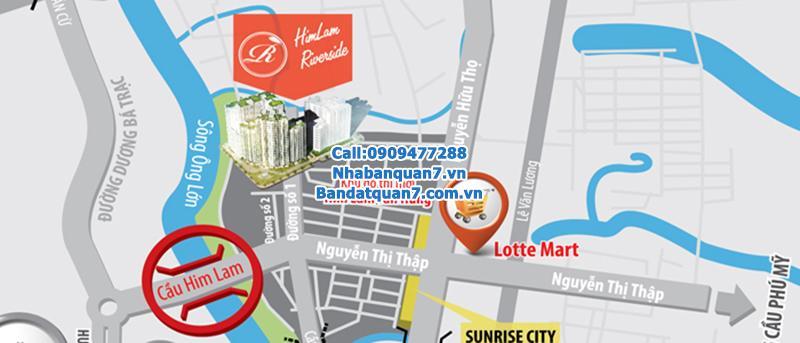 Chuyên Bán Đất Nền Him Lam Kênh Tẻ giá rẻ để đầu tư Lh 0909477288 Phước Sửu