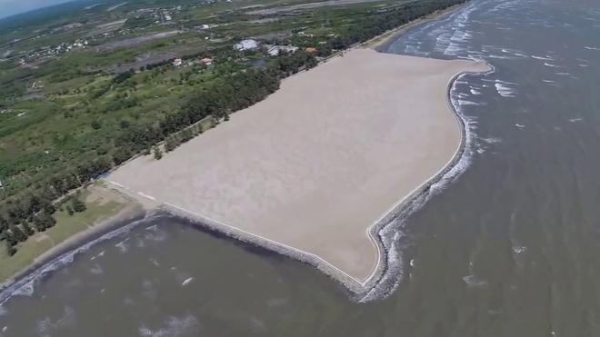 13 năm lận đận của dự án lấn biển Cần Giờ, TP Hồ Chí Minh