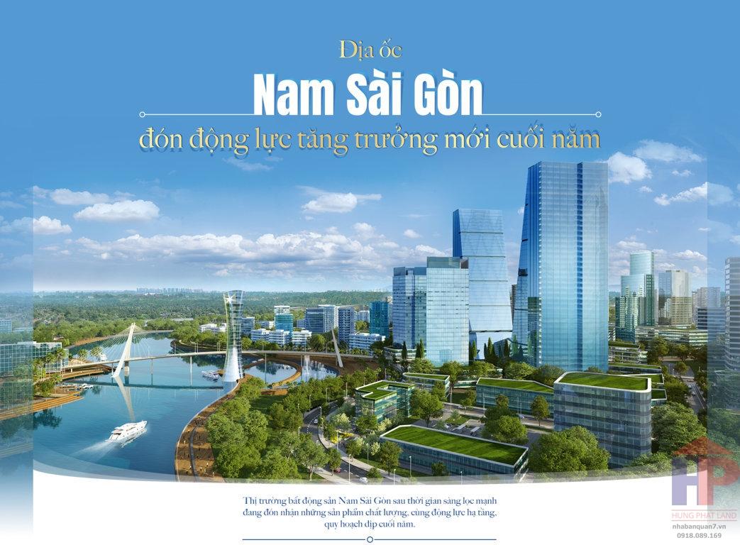 Địa ốc Nam Sài Gòn – đón động lực tăng trưởng mới cuối năm