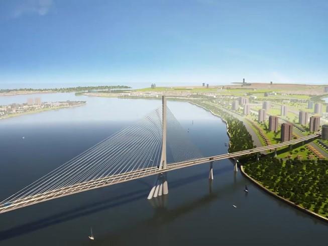 Cầu Cần Giờ dự kiến khởi công xây dựng vào tháng 6/2021