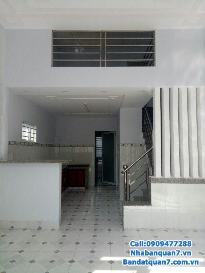 Bán nhà hẻm 861 Trần xuân soạn, P. Tân Hưng ,Quận7