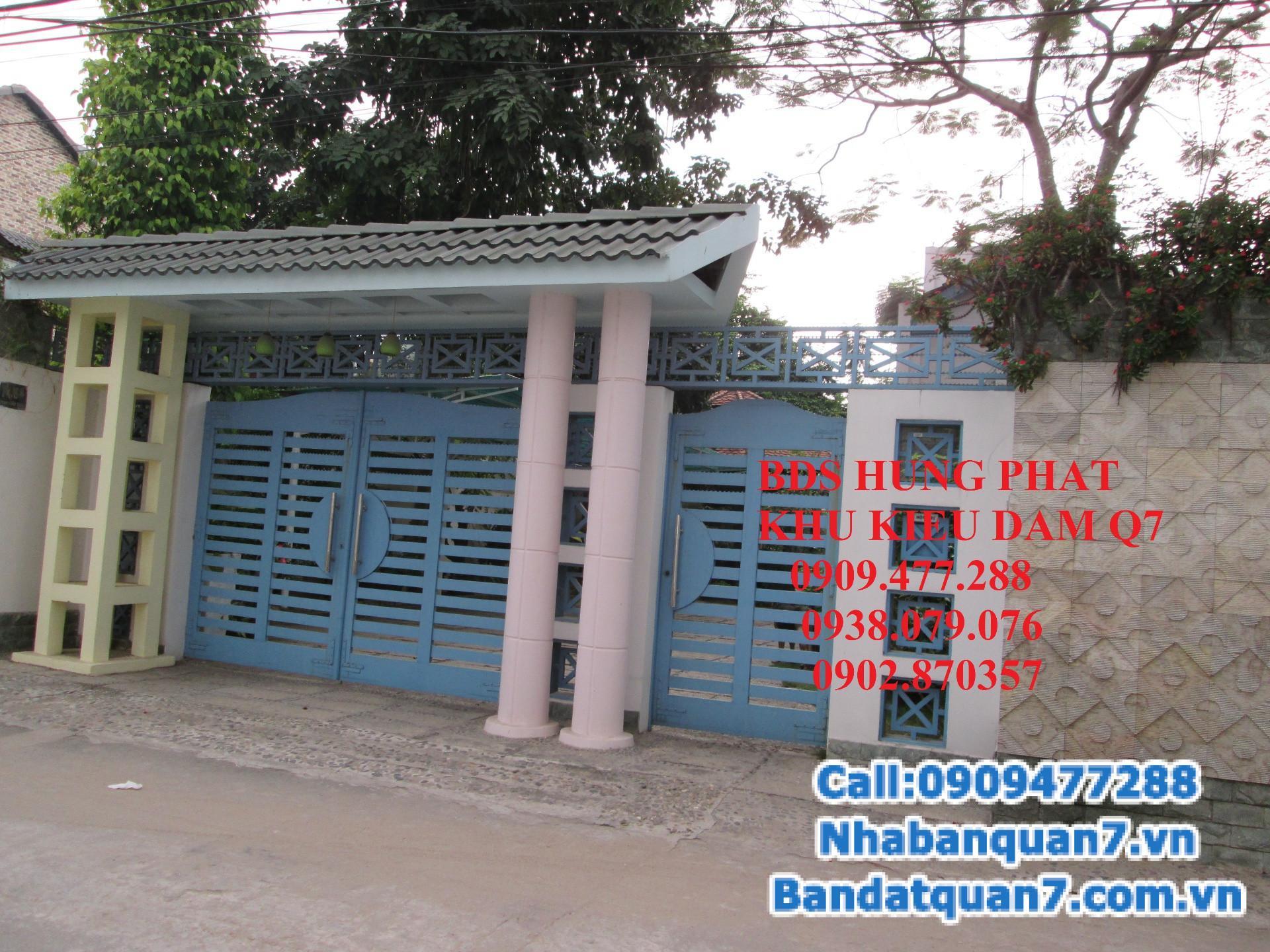 Cần bán gấp nhà biệt thự Vườn KDC Kiều Đàm, Phường Tân Hưng, Quận 7, TP.HCM.