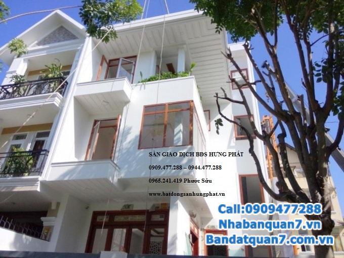 Bán biệt thự phố khu An Phú Hưng, trung tâm Q7