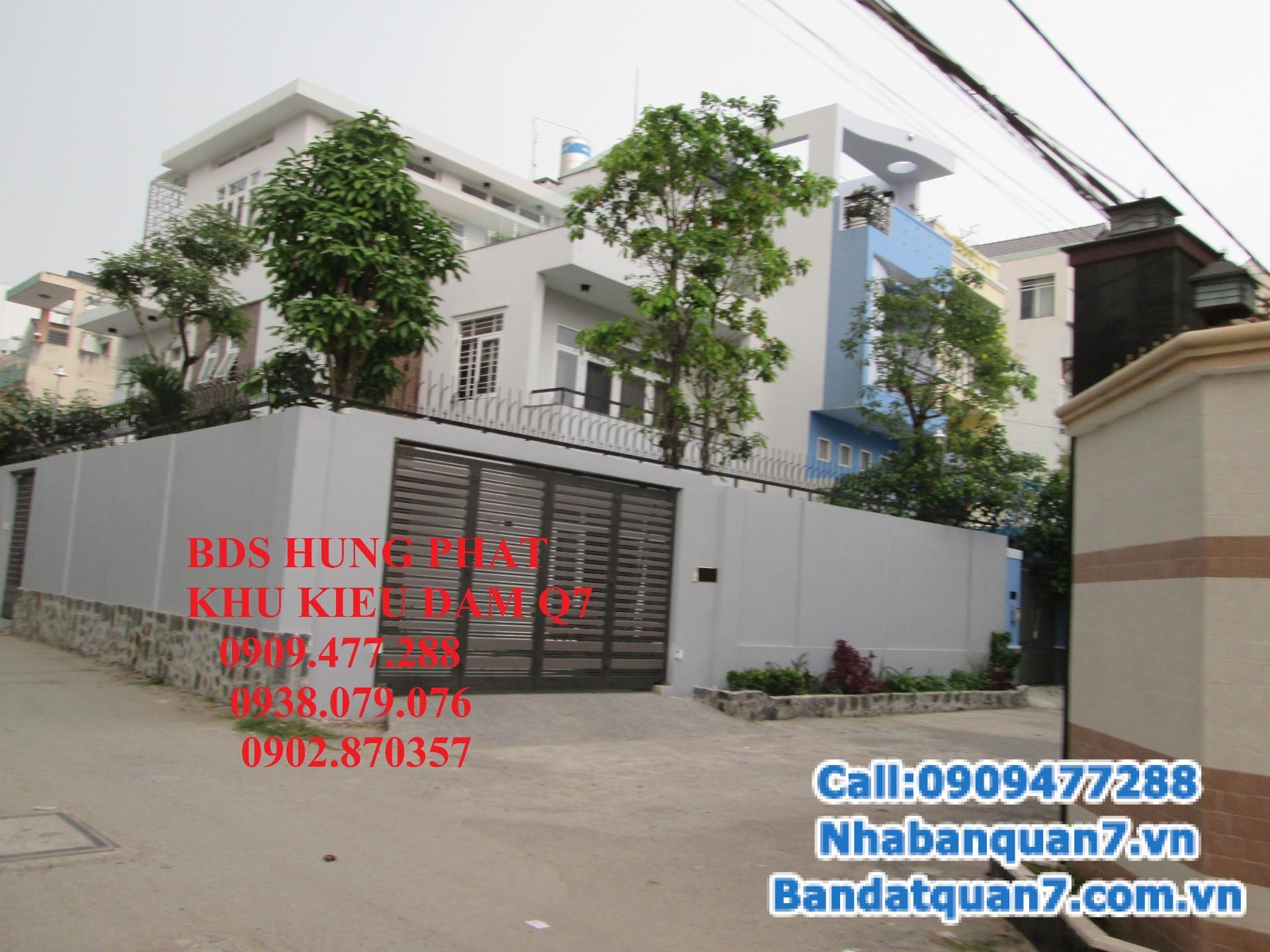 Bán khách sạn đường Trần Xuân Soạn, P. Tân Hưng, Q7.