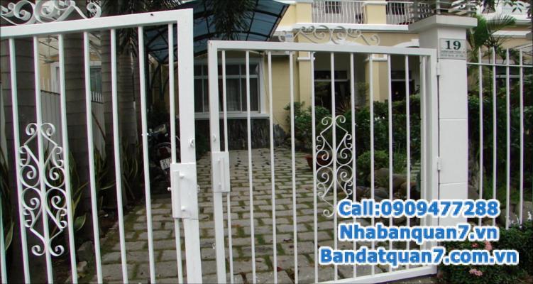 Kẹt tiền bán gấp nhà 4,1m x 15m khu Kiều Đàm, Tân Hưng, Q7, giá 5,7 tỷ.
