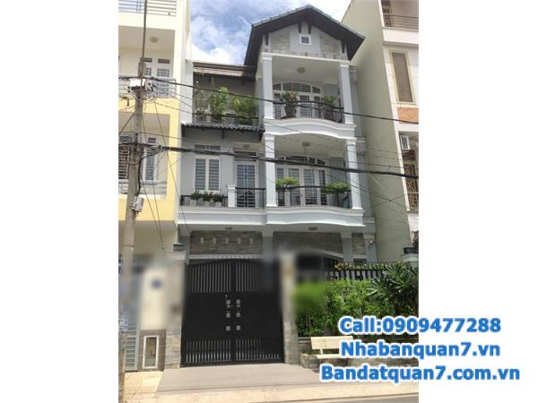 Bán hoặc cho thuê nhà đường 9A, KDC Trung Sơn, Q.7