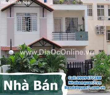 Bán gấp nhà mặt tiền đường số 41, phường Tân Quy Quận 7, TP. HCM