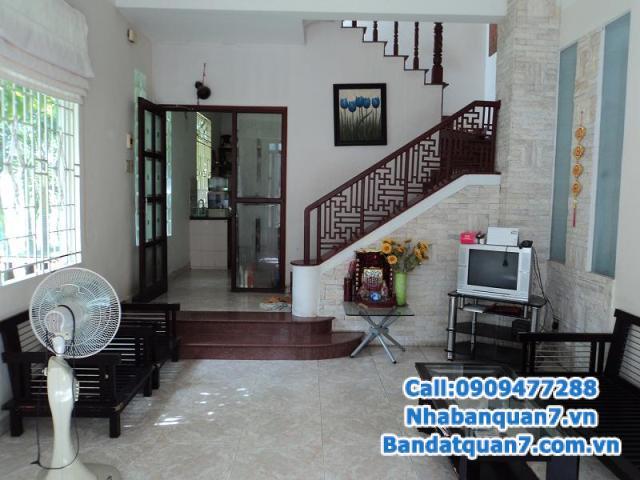 Bán nhà 3 lầu KDC An Phú Hưng khu cao cấp phường Tân Phong, Quận 7