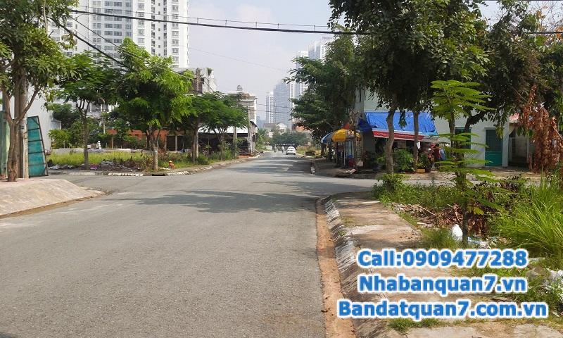 Chính chủ gửi bán gấp nền biệt thự KDC Kim Sơn, quận 7.