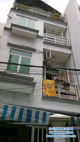 Bán nhà hẻm 455 lê văn lương phường tân phong quận7 giá: 3,7 tỷ DT: 4*11m