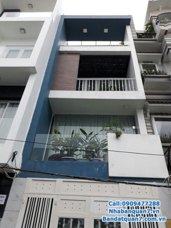 Bán nhà phường Phú Thuận quận 7, diện tích 4x20m, giá 5.5 tỷ, LH 0909477288