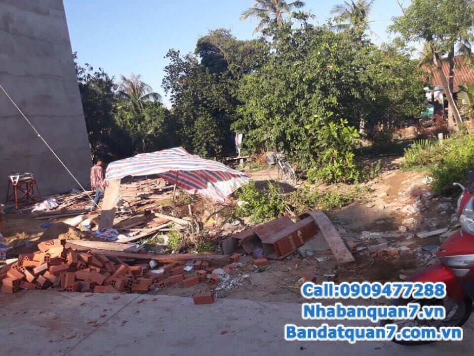 Bán đất Nhà Bè đường Đào Tông Nguyên, DT 4,2x25m, giá 2,7 tỷ, LH 0909.477.288