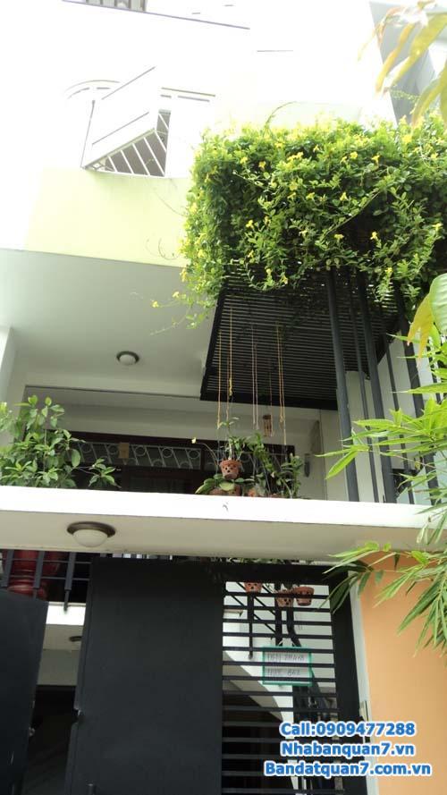 Bán nhà quận 7 hẻm 62 Lâm Văn Bền, 1 trệt 3 lầu, nhà đẹp hoàn công đủ 6 tỷ.