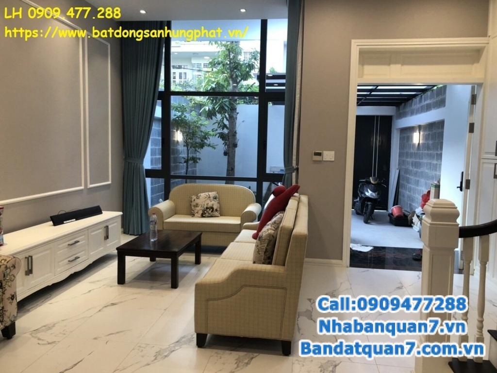 Bán nhà Hẻm lớn Trần Xuân Soạn, phường tân hưng,Q7 LH 0909477288