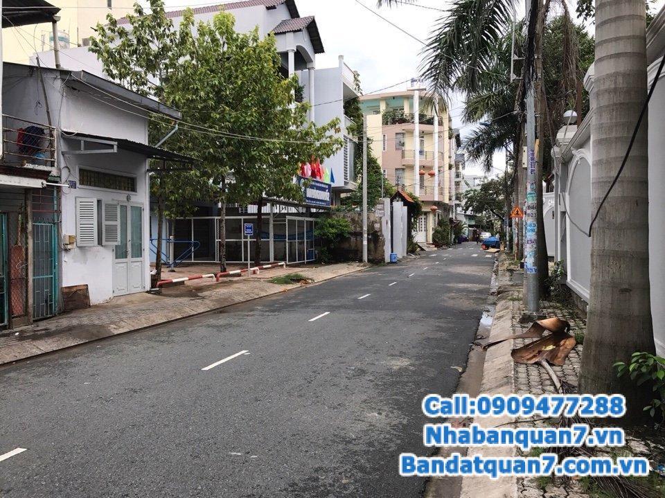 Bán nhà đường trần xuân soạn, p tân hưng quận 7 lh 0909477288