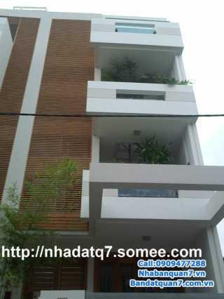 Cần bán căn nhà mặt tiền 16m, Phan Huy Thực, Q.7