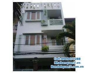 Bán nhà phố mặt tiền đường số 41, KDC An Phú Hưng, P.Tân Phong, quận 7