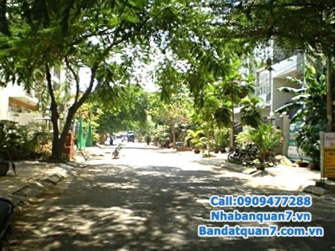 Bán nhà khu chung cư Hoàng Anh Gia Lai 2 mặt tiền đường trần xuân soạn quận 7