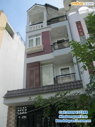 Nhà đường 16m, khu dân cư Tân Quy Đông