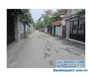 Bán nhà hẻm xe hơi Huỳnh Tấn Phát, DT: 4x15m trệt + 2 lầu