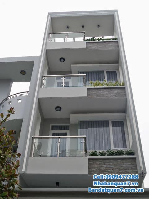 Cần bán nhà 4x19m, 1 trệt 2.5 lầu KDC An Phú Hưng hướng nam, sổ hồng, giá chỉ 6.2 tỷ