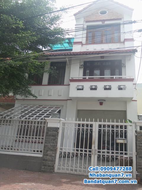 Cần bán căn nhà góc 2 mặt tiền khu Him Lam Kênh Tẻ, Quận 7