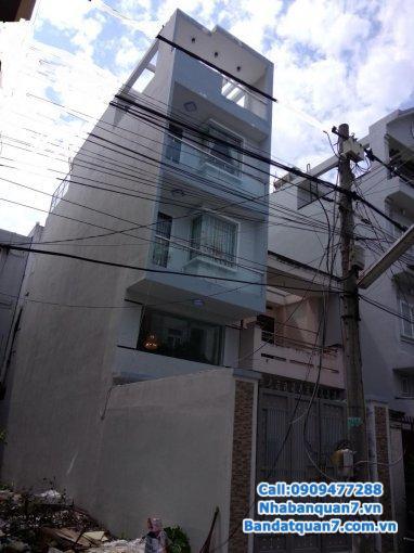 Bán nhà 2 lầu 3x8m hẻm 793 Kiều Đàm, P. Tân Quy, quận 7