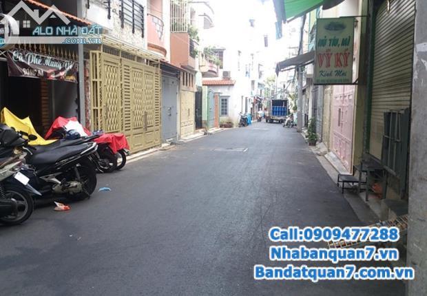 Bán nhà trọ hẻm Ngọc Trai Phường Tân Thuận Tây, quận 7, DT 10.65m x 26m, tổng 277m2. Gíá 9 tỷ TL