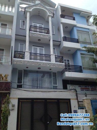 Nhà mặt tiền hẻm 176 đường Nguyễn Thị Thập, p bình thuận, q7