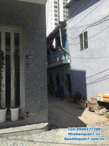 bán nhà 67,2m2 nhà 1 trệt 1 lầu khu kiều đàm q7 ngay cầu kênh tẻ