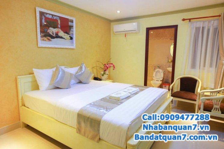 Bán khách sạn 4 tầng KDC Trung Sơn, Bình Chánh 14 phòng cao cấp, giá 13.5 tỷ