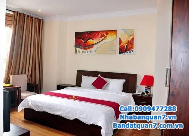 Bán khách sạn 2 mặt tiền, thuộc KDC Trung Sơn, Bình Chánh, 12m x 48m