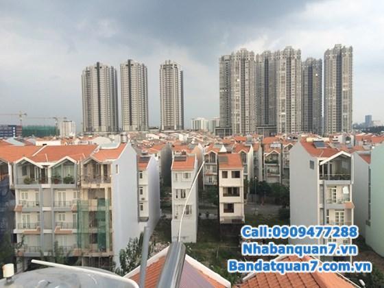 Bán nhà đẹp DT: 4x19m, 1 trệt, 2 lầu, ST, KDC An Phú Hưng, P.Tân Phong, Q7