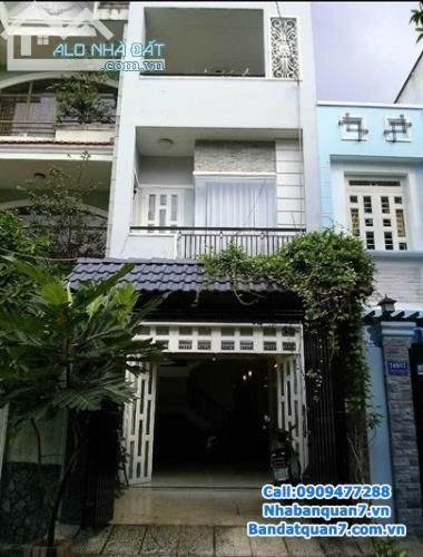 bán nhà  mặt tiền Nguyễn thị thập phường Tân phú Q7