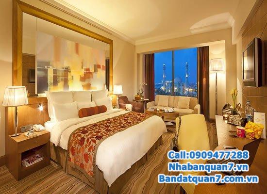Cần tiền Bán khách sạn Khu Dân Cư Trung Sơn, 8mx20m, nội thất đầy đủ, đang kinh doanh tốt.