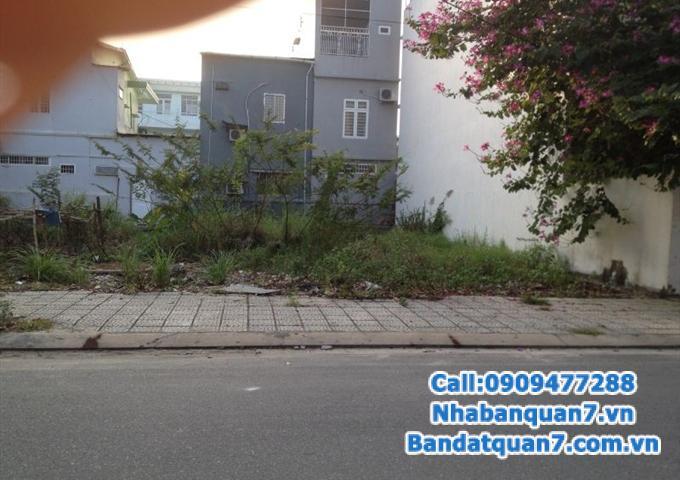Bán lô đất 12x20m mặt tiền đường 65 khu Tân Quy Đông, phường Tân Phong, Q7