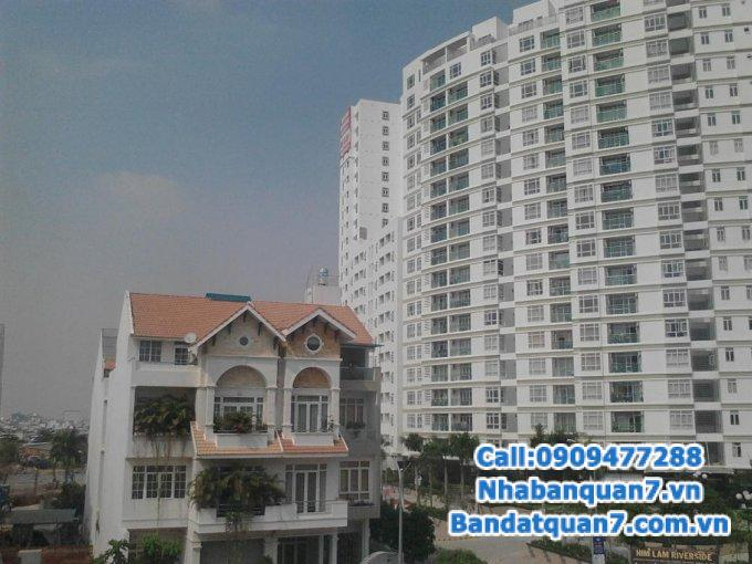 Bán căn nhà mt đường D4 KDC Him Lam Kênh Tẻ, 5x20m giá 16 tỷ