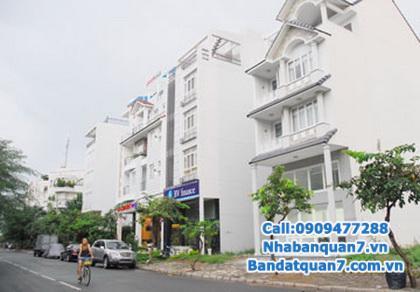 Bán nhà đẹp khu biệt thự Kiều Đàm Q7, DT 4.2x21m, 2 lầu