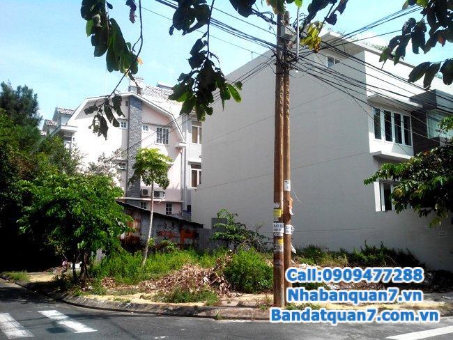 Bán đất mặt tiền đường 53, phường Tân Quy, Quận 7, diện tích 203m2
