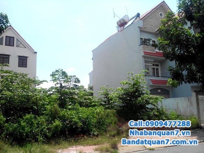Cần bán lô đất góc 2 MT khu An Phú Hưng, p. Tân Phong, quận 7
