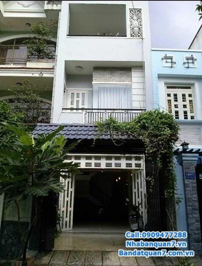 Bán nhà Tân Quy Đông đường số 53, diện tích 6x20m, giá 75tr/m2,  LH 0909.477.288