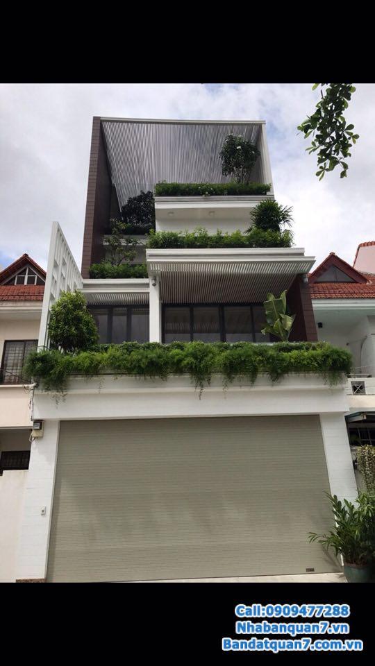 Bán nhà Nam Long Phú Thuận, diện tích 6x16m, giá 9.2 tỷ, LH 0909477288 để xem nhà.