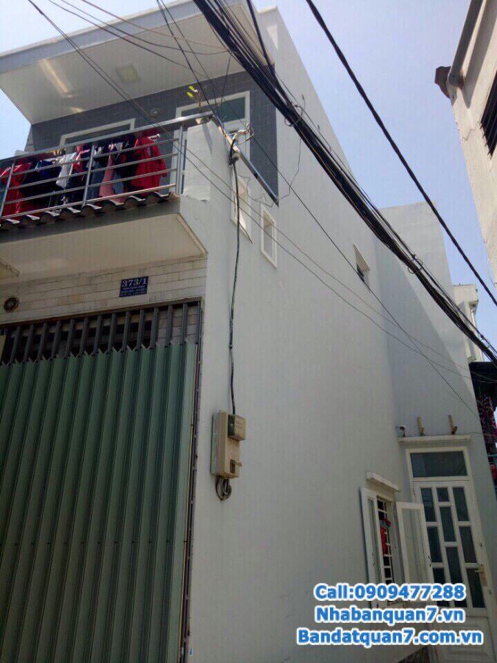 Bán nhà 373 Trần Xuân Soạn, dt 4,5x10m, nở hậu, LH 0909.477.288