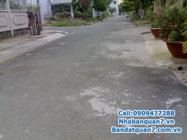 Bán đất An Phú Hưng, Q7, 72m2, đối diện trường Nguyễn Thị Thập, hướng Bắc, 4,3 tỷ