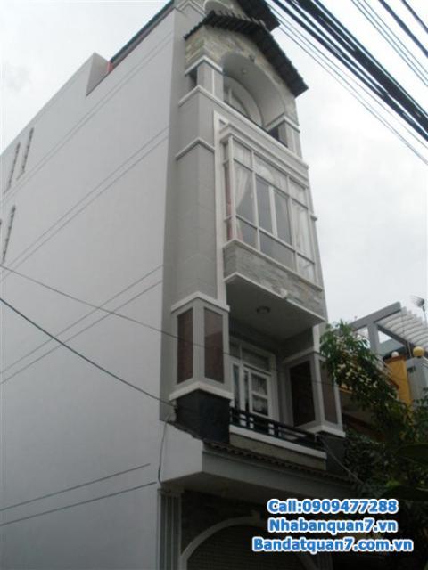 Bán nhà số Q50 đường số 32 khu An Phú Hưng, Q.7, DT 4x20m lH 0909477288