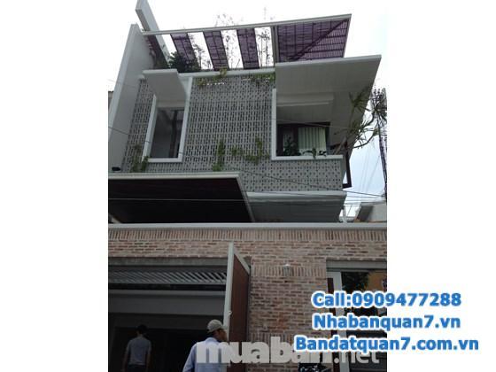 Bán nhà mặt tiền Huỳnh Tấn Phát, dt 5,5x28m, giá 20,5 tỷ, Lh 0909.477.288