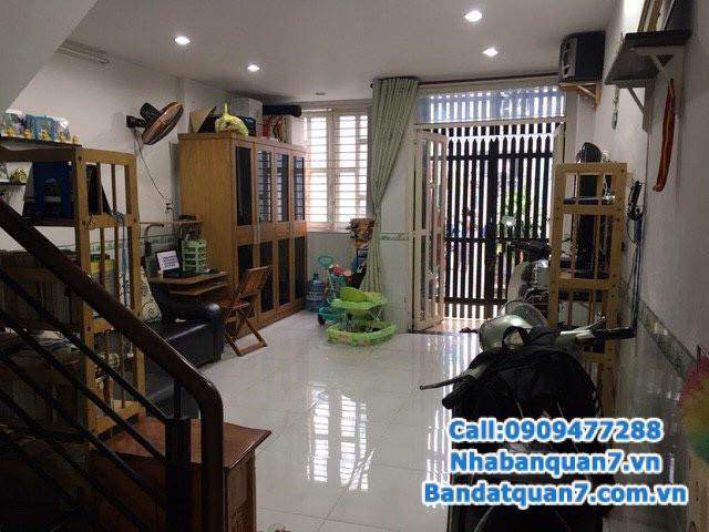 Bán nhà phường Tân Hưng, diện tích 4.2x12.5m, giá 2.65 tỷ, LH 0909477288