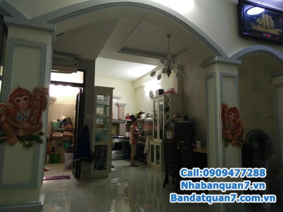 Bán nhà hẻm 793 Trần Xuân Soạn quận 7, giá 8.2 tỷ, LH 0909477288