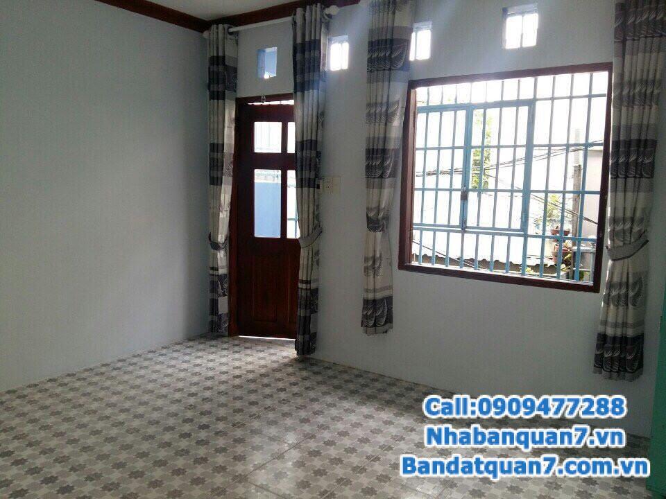 Bán nhà hẻm 88 Nguyễn Văn Quỳ quận 7, diện tích 4.2x6m, giá 1.48 tỷ, LH 0909477288